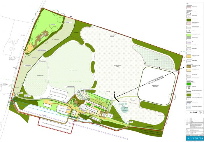 The farm plan for Great Barn Farmsteads 23 acres. Lots of work and lots of fun.