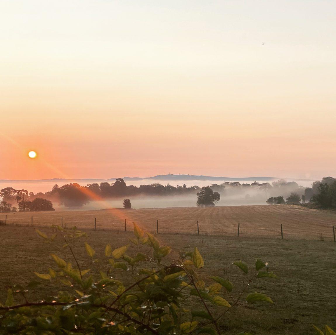 Dawn over St Columba's Farm - The Gift Economy of God