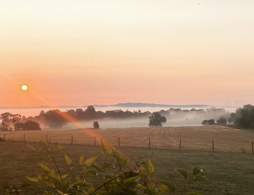 Dawn over St Columba's Farm - The Gift Economy of God